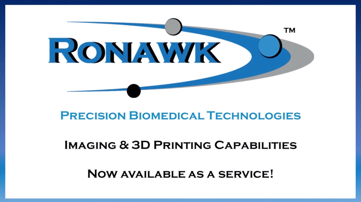 Imaging and 3D Printing Ronawk